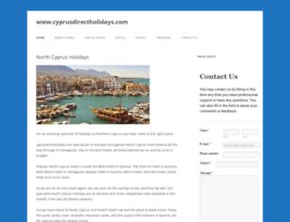 cyprusdirectholidays.com screenshot