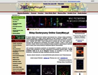 czarymary.pl screenshot