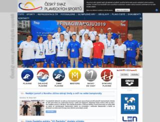 czechswimming.cz screenshot