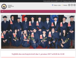 czechuniversity.com screenshot