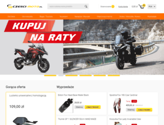czesci-moto.pl screenshot