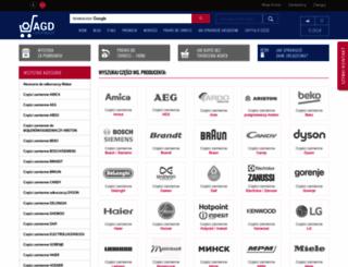 czesciagd.pl screenshot