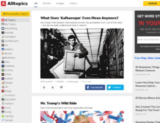 d.alltopics.com screenshot