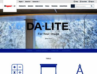 da-lite.com screenshot