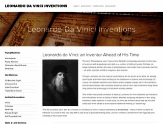 da-vinci-inventions.com screenshot
