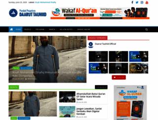 daaruttauhiid.org screenshot