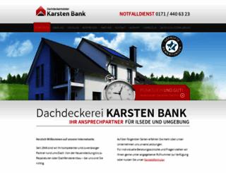 dachdecker-bank.de screenshot