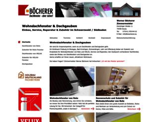 dachfenster-freiburg-im-breisgau.de screenshot