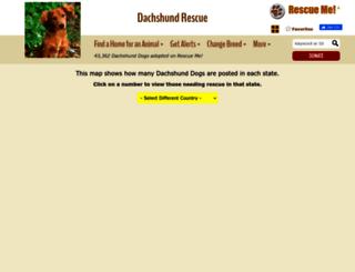 dachshund.rescueme.org screenshot