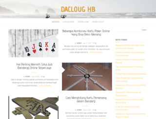 dacloughb.com screenshot