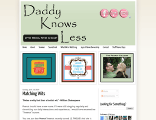 daddyknowsless.blogspot.com screenshot