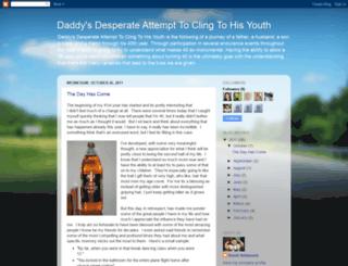 daddysdesperateattempt.blogspot.com screenshot