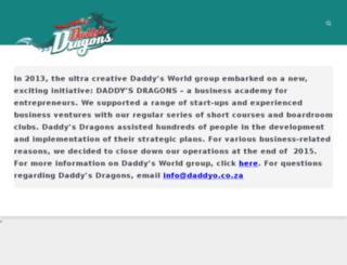 daddysdragons.co.za screenshot