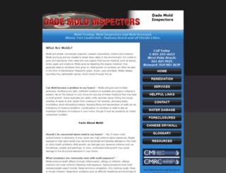 dademoldinspectors.net screenshot
