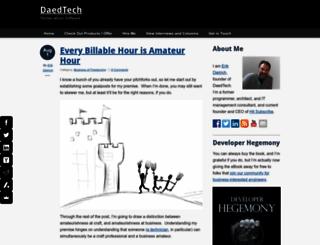 daedtech.com screenshot