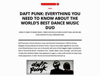 daftpunk-anthology.com screenshot