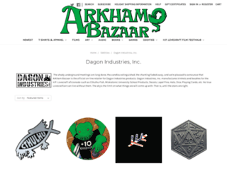 dagonindustries.com screenshot