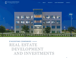 dagostinocompanies.com screenshot