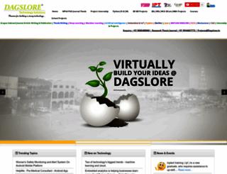 dagslore.in screenshot
