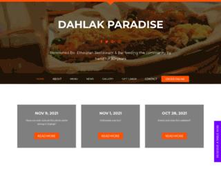 dahlakrestaurant.com screenshot