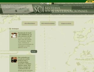 dai-mre.serpro.gov.br screenshot