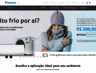 daikin.com.br screenshot