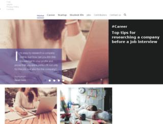 daily.wizbii.com screenshot