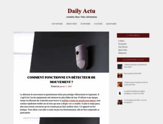 dailyactu.com screenshot
