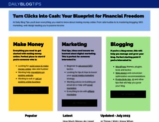 dailyblogtips.com screenshot