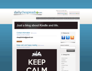 dailycheapreads.com screenshot