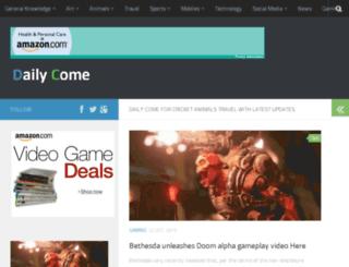 dailycome.com screenshot