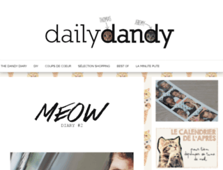 dailydandy.fr screenshot