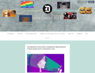 dailydot.tumblr.com screenshot