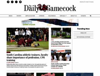 dailygamecock.com screenshot