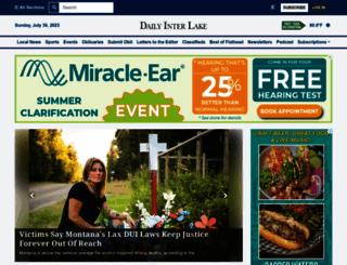 dailyinterlake.com screenshot