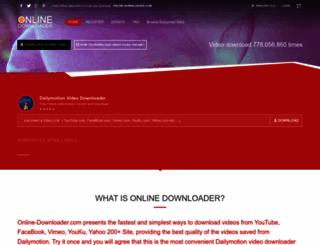 dailymotion.online-downloader.com screenshot