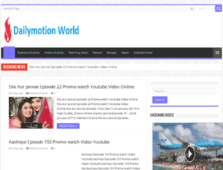 dailymotionworld.com screenshot