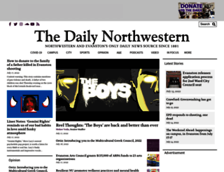 dailynorthwestern.com screenshot