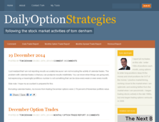 dailyoptionstrategies.com screenshot