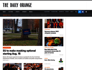 dailyorange.com screenshot