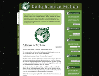 dailysciencefiction.com screenshot