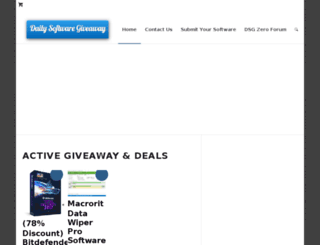 dailysoftwaregiveaway.com screenshot