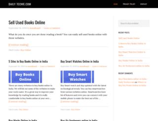 dailytechie.com screenshot
