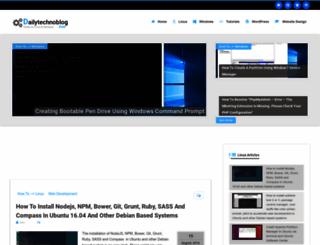 dailytechnoblog.com screenshot