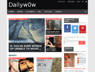 dailyw0w.com screenshot