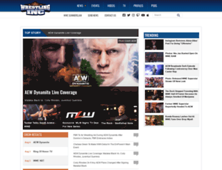dailywrestlingnews.com screenshot