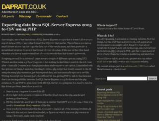 daipratt.co.uk screenshot