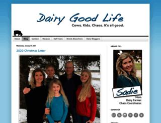 dairygoodlife.com screenshot