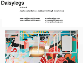 daisylegs.com screenshot