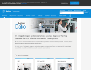dako.com screenshot